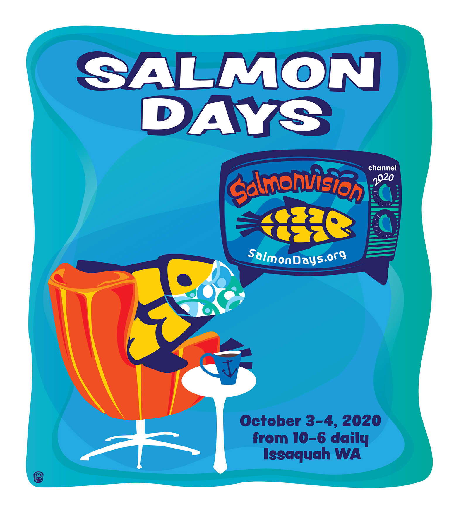 Salmon Days 2020 Artwork