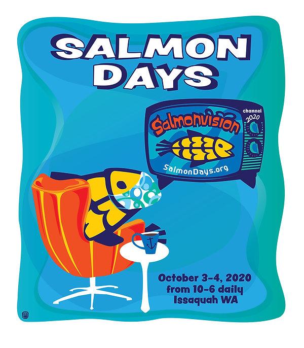 Salmon Days 2020 Artwork
