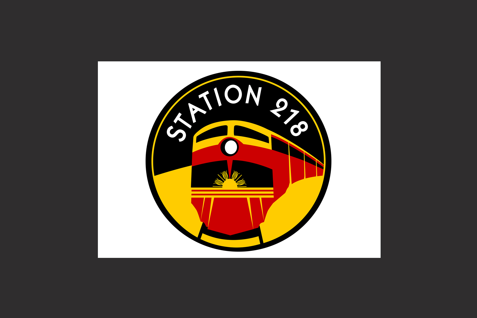 Station218 logo illustration