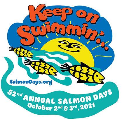 Salmon Days Festival  2021artwork