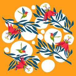 SkyDance, Garden Globe, Orange