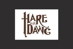 Hare o' the Dawg logo design