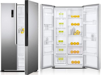 3 Unique Reasons To Buy The Stylish Side-by-side Super General Refrigerator with Digital Inverter.