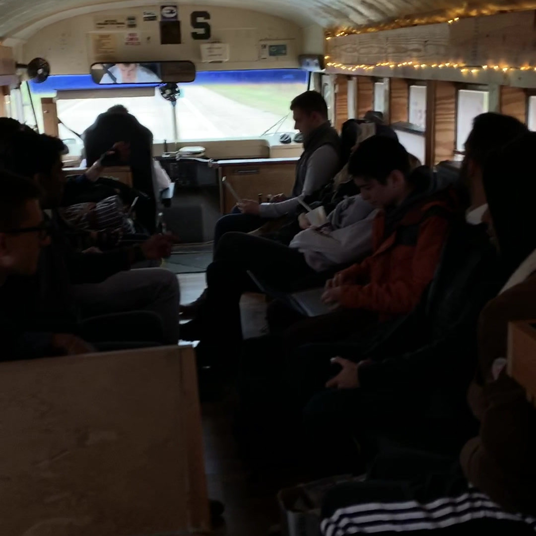 Startup Bus Interior