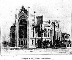 Congregation B'nai Israel in Galveston