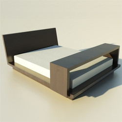 Practical Wooden bed