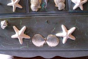 Seahorse Front Drawer Detail