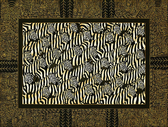 A Dazzle of Zebra's