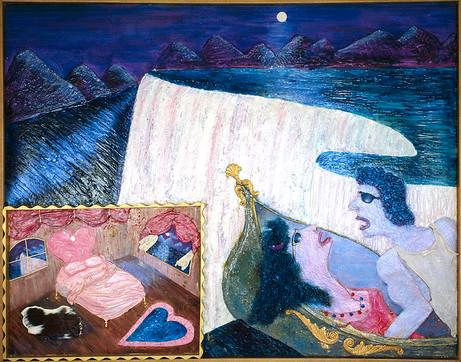 Niagara Falls, The Honeymoon Painting