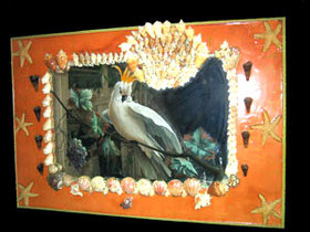 Shell Vanity Mirror