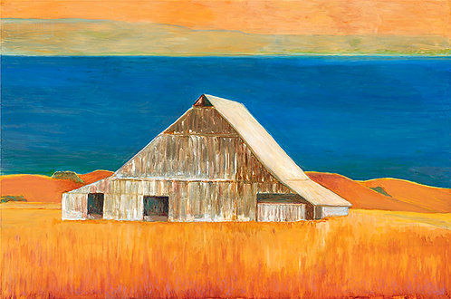 Barn By The Sea