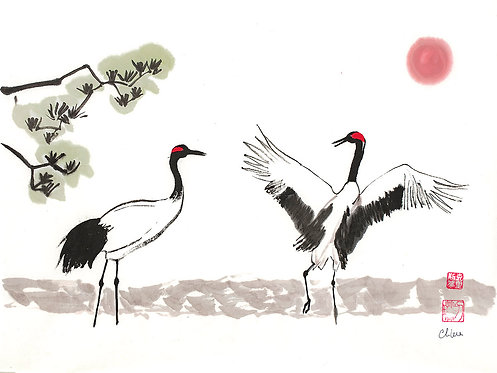 2 Cranes