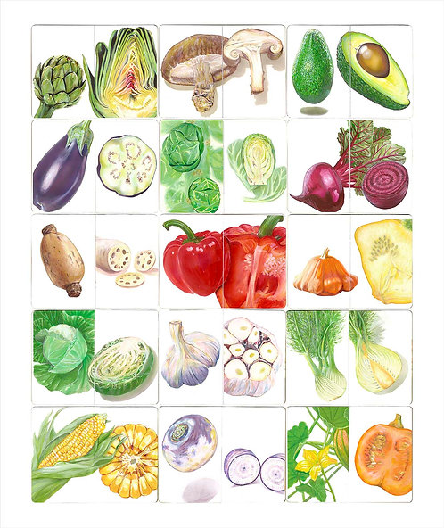 Sketchbook - Vegetables