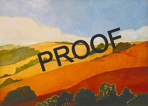 """8""""x10"""" Proof Print - Susan Hall"""