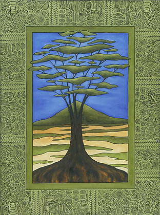 18x24 Dreaming Tree