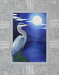 MoonlightOnTheWater(Heron).30x24.jpg