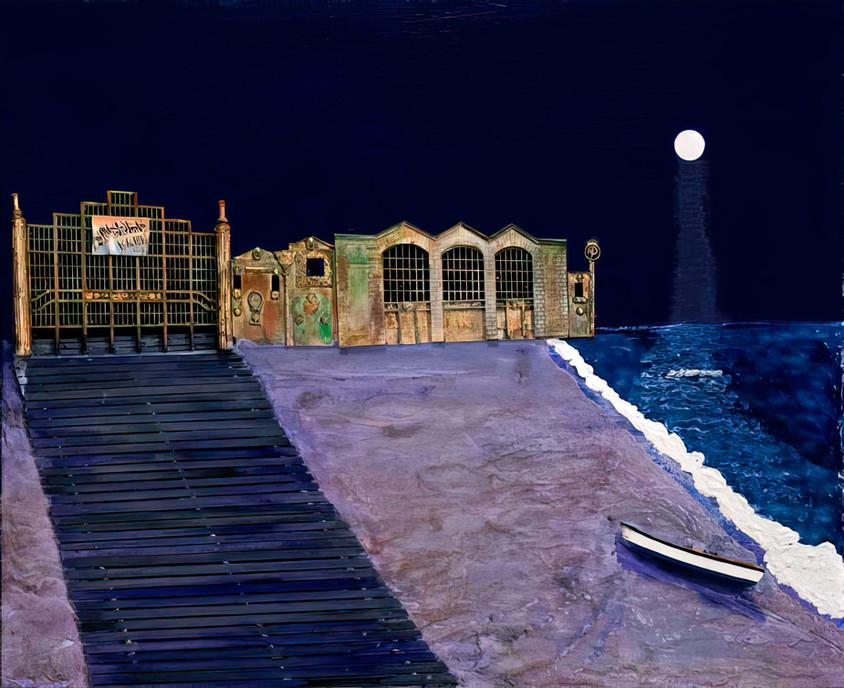 Asbury Park: Full Moon
