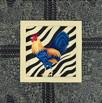 18x24 Rooster