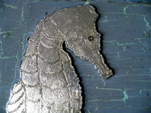 Seahorse Close-Up Detail