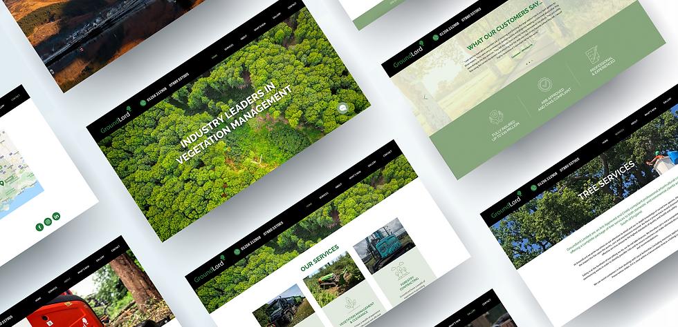 groundlord website designs
