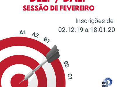 Inscreva-se para o exame DELF de FEVEREIRO
