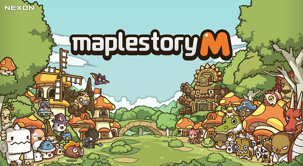 a picture of maplestory mobile by nexon