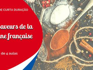 Les saveurs de la cuisine française: curso de curta duração