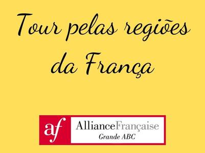 Viagem pelas regiões da França