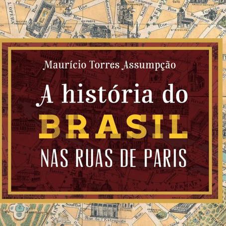 RFI lança em podcast o livro A história do Brasil nas ruas de Paris