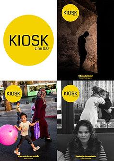 Kioskzine 0.0 - 3 zines por Daniel Rodrigues, José Farinha e Paulo Pimenta