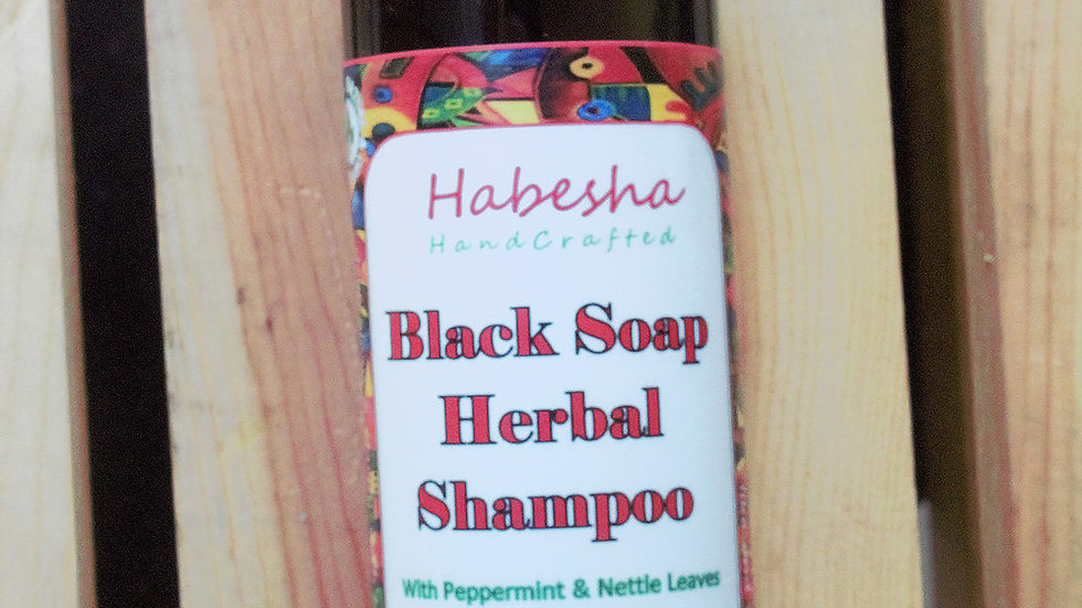 Black Soap Herbal Shampoo