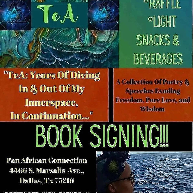 Book Signing  and Poetry Reading
