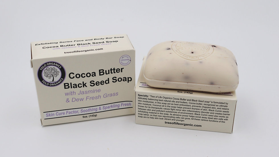 COCOA BUTTER BLACKSEED SOAP