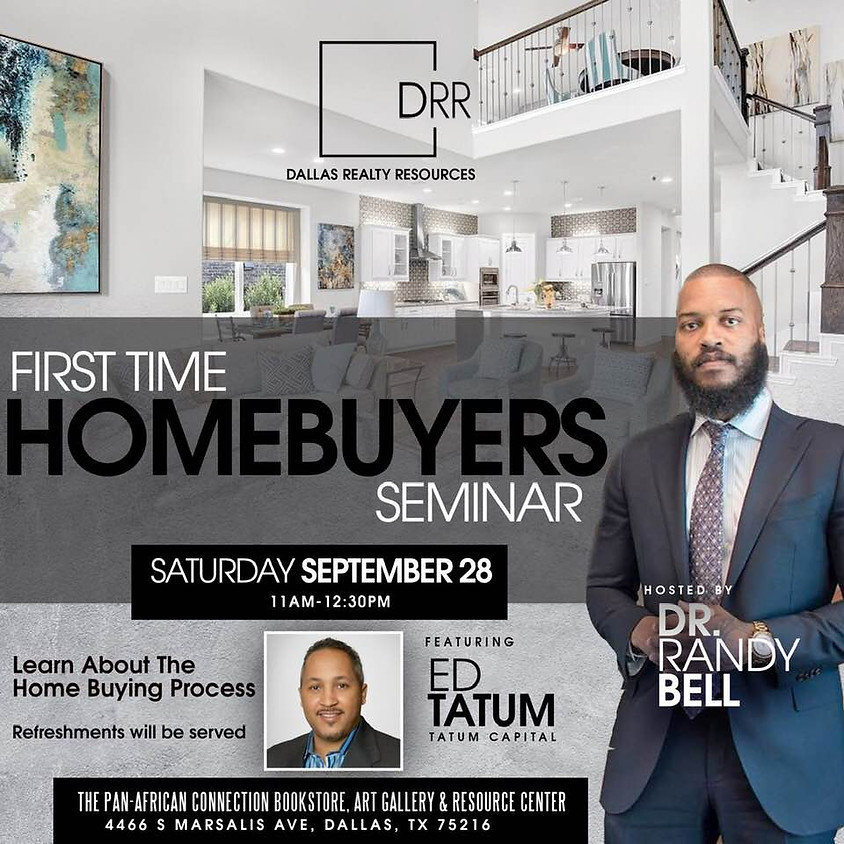 Lets Grow Together, First Time HomeBuyers Seminar