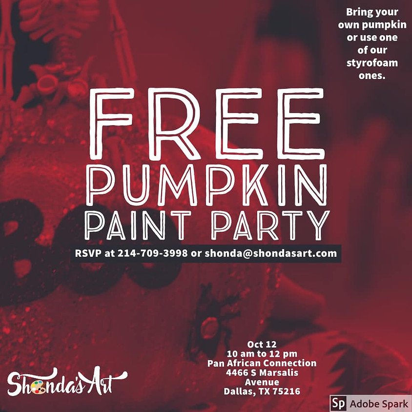 Pumpkin Paint Party for Everyone
