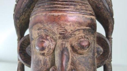 Bamileke Helmet Mask Cameroon