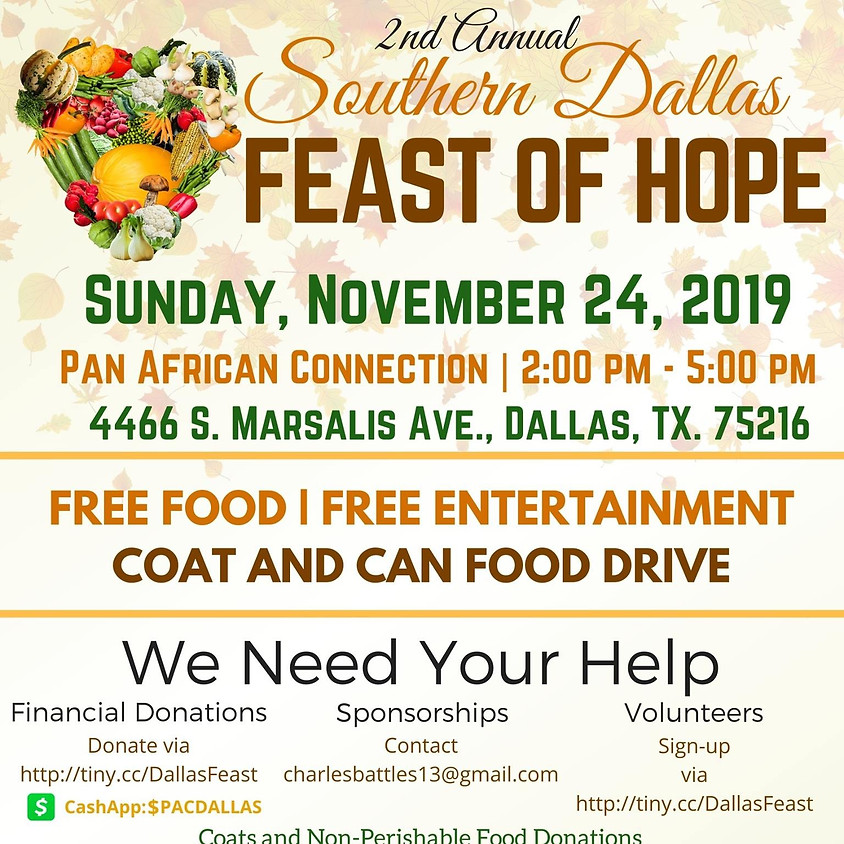 2nd Annual Southern Dallas Feast of Hope