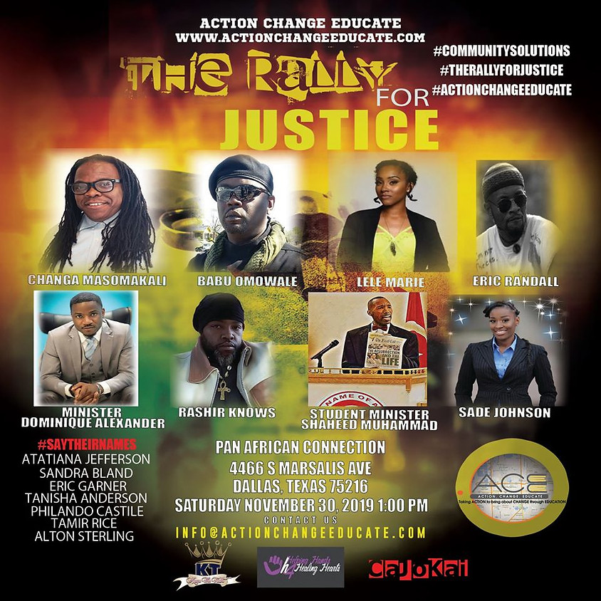 The Rally for Justice