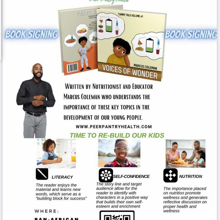 Book Signing Tummy Talk : Confidence, Health and Nutrition for Children