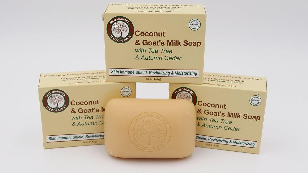 Tree of Life Coconut & Goat's Milk Soap