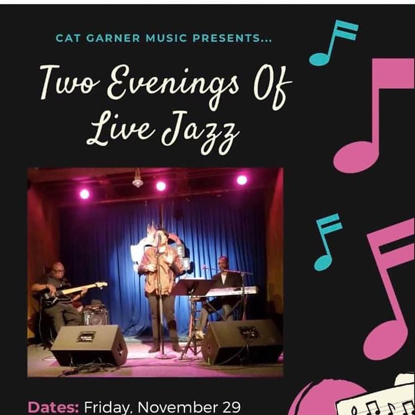 Black Friday Live Jazz with Cat Garner Trio