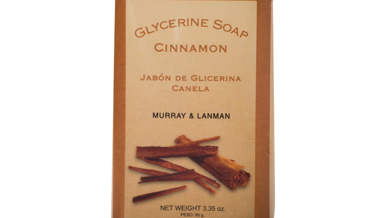 CINNAMON SOAP 3.3 OZ