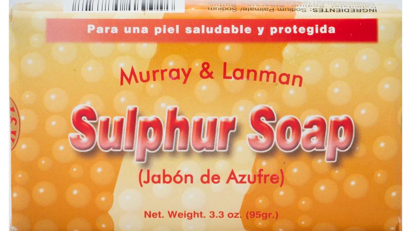 SULPHUR SOAP 3.3 OZ