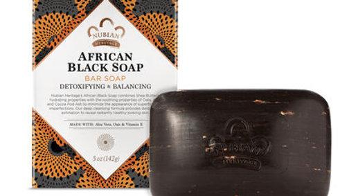 AFRICAN BLACK SOAP BAR SOAP