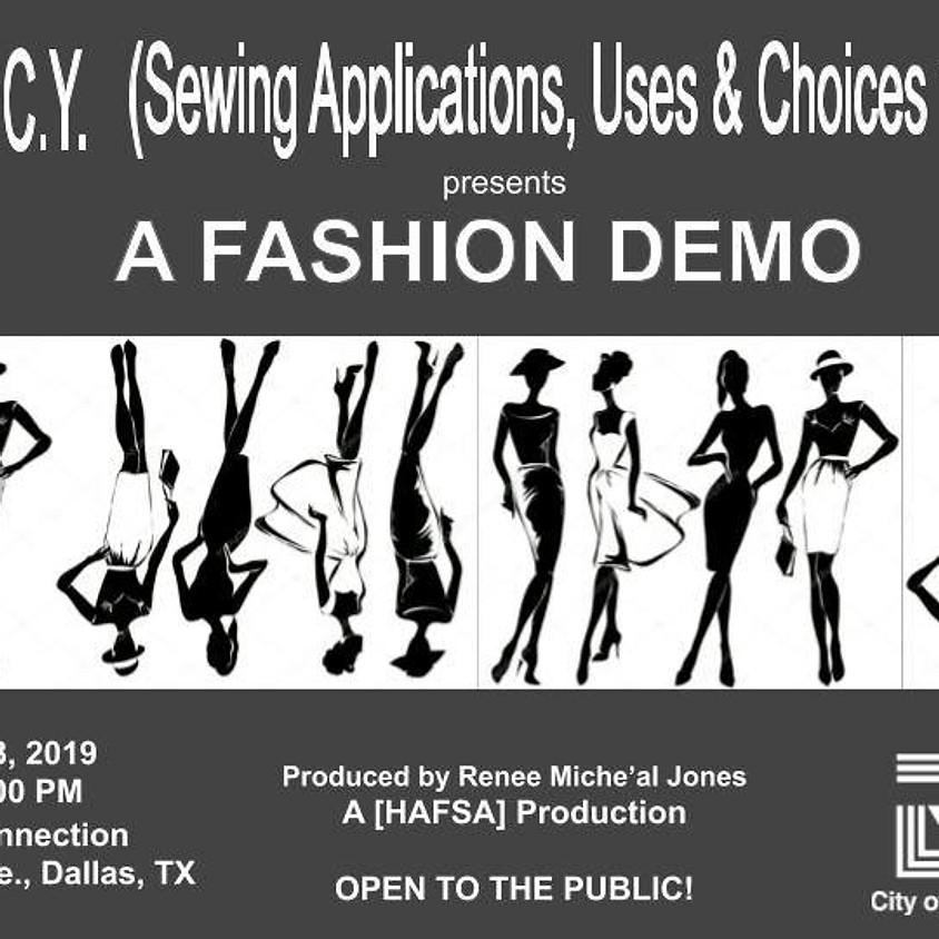 SAUCY Fashion Demo