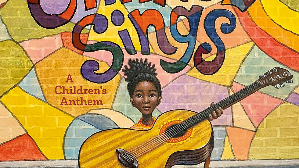 Change Sings: A Children's Anthem - pre order available in September 30th 2021