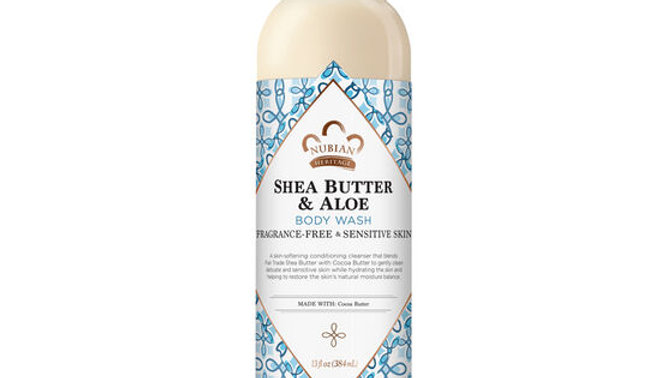 SHEA BUTTER & ALOE BODY WASH (FRAGRANCE FR
