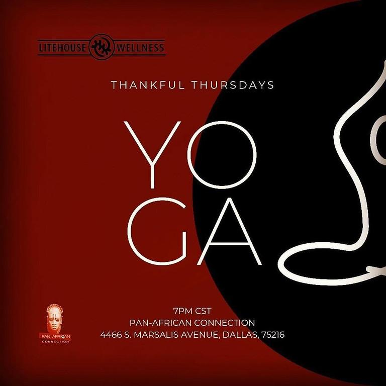 Thursday Yoga and Broga