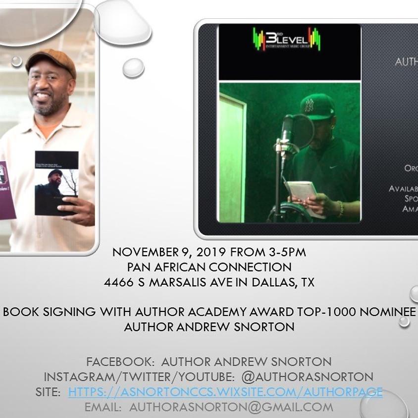 November 9, 2019 Book-Signing (Dallas, TX)