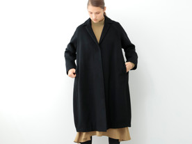 cocoon flare chester coat
